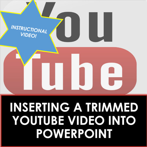 Microsoft Powerpoint Skills Inserting Trimmed Youtube Videos Tpt