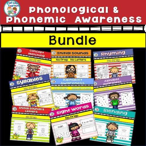 Phonological Phonemic Awareness No Prep Bundle