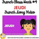 "4 French Class Transition Video ""Thursday"" for CI TCI TPRS"