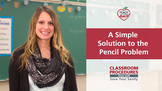 A Simple Solution to the Pencil Problem