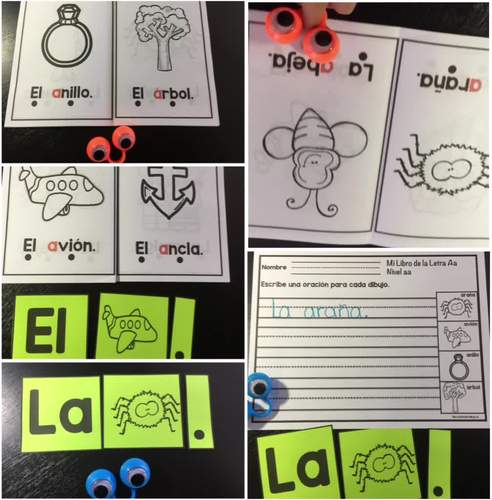 Guided Reading - Nivel aa in Spanish for Pre-K and Kindergarten