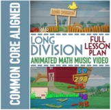 Long Division Worksheets, Game, & Animated Video  ♫♪ by NUMBEROCK