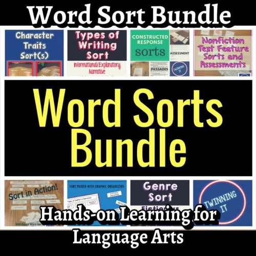 Language Arts Word Sorts Growing Bundle