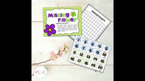 April Centers--Kindergarten MATH