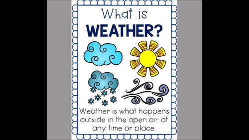Weather Unit | Kindergarten and First Grade