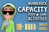 Capacity Song & Activities ♫♪ with Worksheets, Game and An