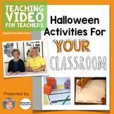 FREE Halloween Activities & Fall Activities - Writing and