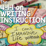 The 4-1-1 on Writing Instruction