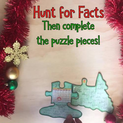 Christmas Reading Comprehension Activity