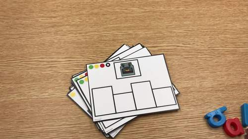 Differentiated Build It Task Cards: CVCE Version