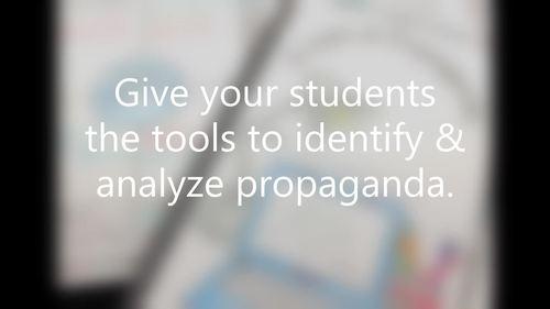 Propaganda Workbook:  Identify & Analzye