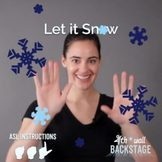 Let it Snow - American Sign Language Instructional Video