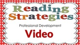 Reading Strategies Professional Development Video for Teac