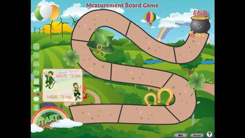 Measurement: Board Game - NOTEBOOK Gr. 6-8