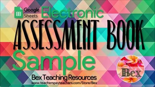 Yr 7-8 Google Sheets Assessment Book (New Zealand Version)
