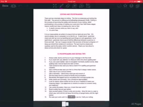 Editing and Proofing Guide and Checklist