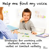 Communication Tips For Students Who Are Non-verbal- Autism