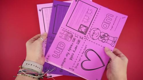 FREE Sight Word Books - Valentine's Day