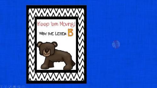 Alphabet Activities Letter of the Week B