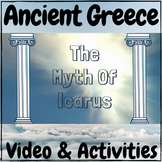 Ancient Greece The Myth of Icarus MINI Video & Activities!
