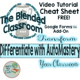 Differentiate Effortlessly with AutoMastery Video and Cheat Sheet