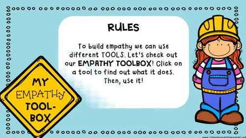 An INTERACTIVE Lesson on Having Empathy for Others, Grades K-1
