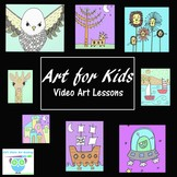 Directed Drawing Video Lessons: Building Kids Confidence T