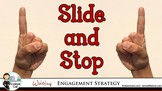 Slide and Stop Writing Strategy: Make Your Characters Jump
