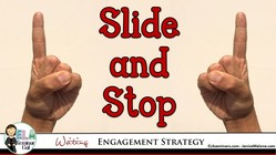 Slide and Stop Writing Strategy: Make Your Characters Jump Off the Page