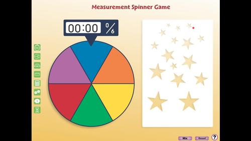 Measurement: Spinner Game - PC Gr. PK-2