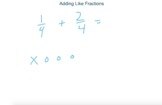 Visual Fractions - Adding Like Fractions
