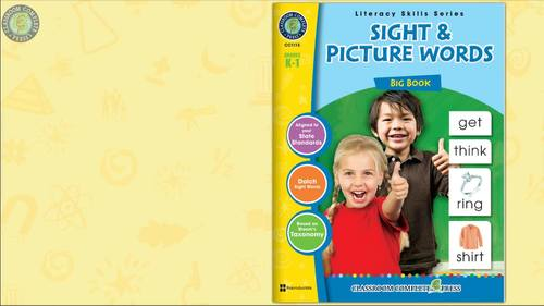 Sight & Picture Words BIG BOOK - Bundle