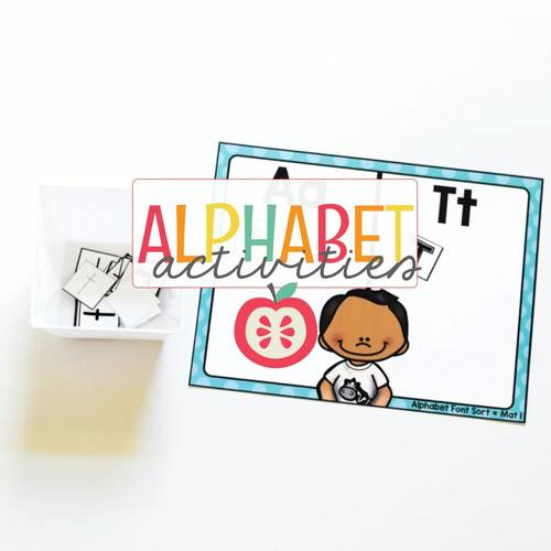 ALPHABET CENTERS BUNDLE