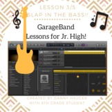 Garage Band Music Recording for Computer Science Unit