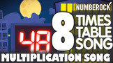 Skip Counting by 8 Song: Learning Times Tables & Multiplic