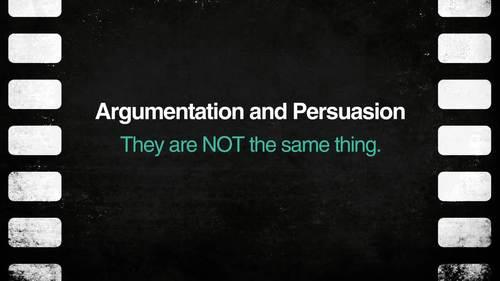 Argumentation & Persuasion: A Unit for Common Core and AP English Language