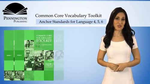 Common Core Vocabulary Toolkit Grade 7
