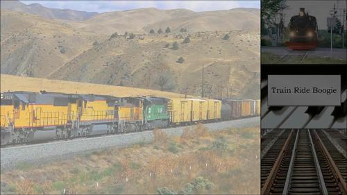 Train Ride Boogie - An Intermediate Level Piano Solo