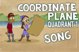 Coordinate Plane Song (Quadrant 1): Fun Review and Math Ce