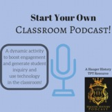 How to Start a Classroom podcast Instructions Donations an