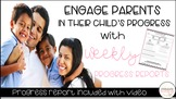 Weekly Progress Reports: A How-To to Increase Parent Engagement