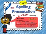 Spelling Strategies for Elementary Teachers Part 2 US Version