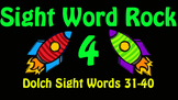 Dolch Sight Word Rock 4 Video (Dolch Sight Words 31-40)
