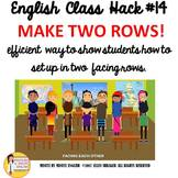 English ESL ELL EFL ELD ESOL Transitional Make Two Rows CI