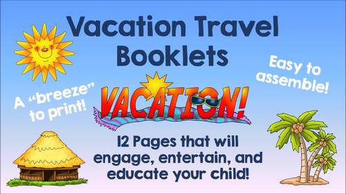 Los Angeles Vacation Travel Booklet