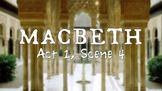 Line by Line: Shakespeare's Macbeth (1.4)