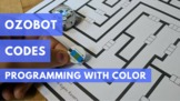 Programming with the Ozobot: Mazes and Printable Sticker Codes