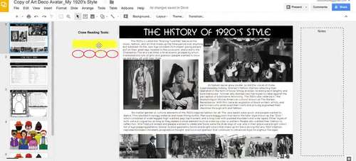 Art Deco Avatar: 1920's Style, Fashion History, and Hook for The Great Gatsby
