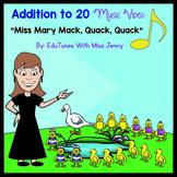 "Addition Within 20: ""Miss Mary Mack"" Music Video, Lyrics &"