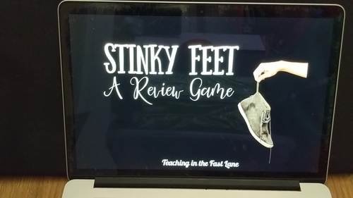 Landforms of Geography Review Game Stinky Feet